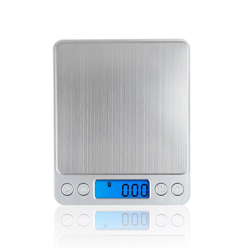 500g x 0.01g portátil mini eletrônico digital escalas caixa de bolso postal cozinha jóias peso balança aço inoxidável