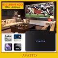[Avatto] exclusiva kodi totalmente cargado x92 2/3 gb/16 gb amlogic s912 android 6.0 smart tv box octa core, 5g-wifi, 4 k h.265 decodificador