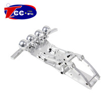 Metal Baja 5T/5SC CNC Alloy Front Bumper SET for1/5 HPI baja 5T Parts KM ROVAN