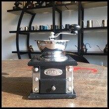 Серебряная заклепка обертывание угловая ручная кофемолка шлифовальная машина импортная сосна кофемолка