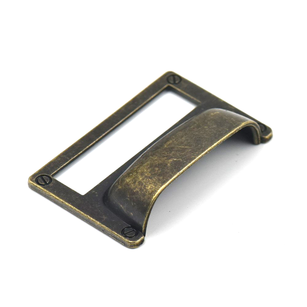 81 51mm Antique Bronze Drawer Cup Pull Handle Office Home
