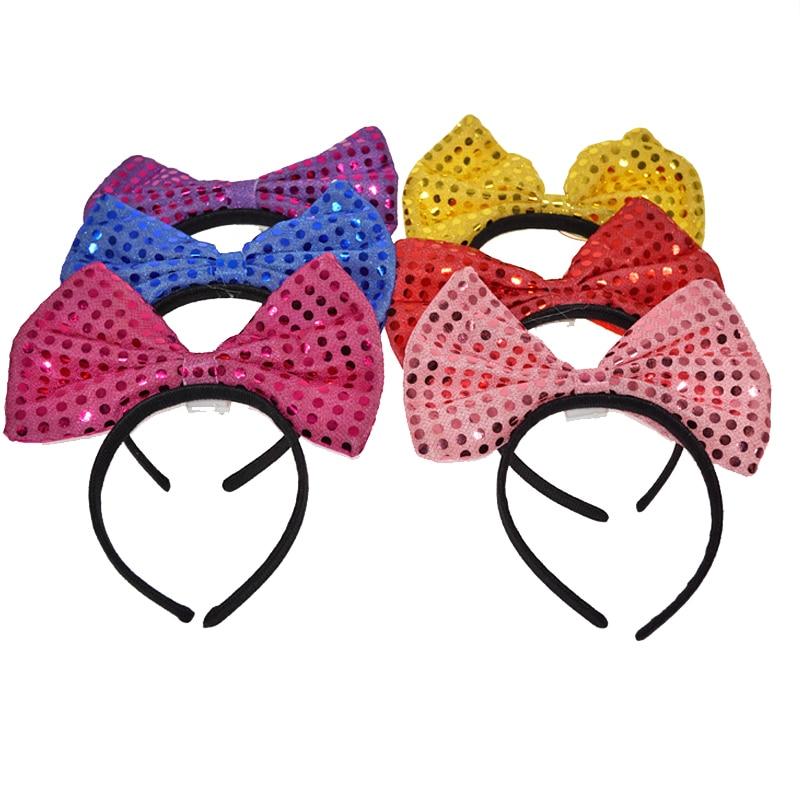 Led favores de la boda parpadeante Hairclip Night Shine Bowknot - Para fiestas y celebraciones - foto 5