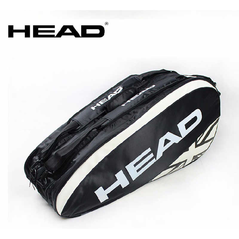 Large 6 Rackets Head Tennis Bag Tennis Racket Backpack Tenis Badminton Bag Outdoor Sport Tennis Racket Bag Tenis Raquete Package