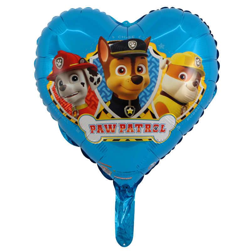 ขายร้อน Paw Patrol วันเกิดตกแต่งรูปของเล่นตกแต่งห้อง Marshall Ryder Sky Ryder Puppy Patrol ของเล่นบอลลูน