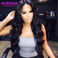 Full Lace Human Hair Wigs For Black Women Brazilian Body Wave Lace Front Wig Middle Part Glueless Full Lace Wigs With Baby Hair