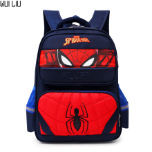 Cartoon children schoolbag Boy Avengers Spiderman school Backpack Suitable for 6-12 years old kids bag Gift bag Casual Rucksack цена 2017