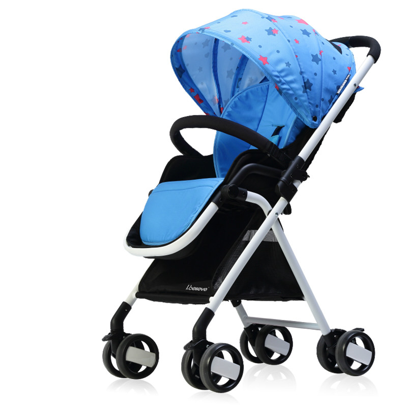 Super Light Weight Baby Stroller High Landscape Portable Baby Car Reclining Folding Stroller Shockproof Pram  sc 1 st  AliExpress.com : reclining strollers - islam-shia.org