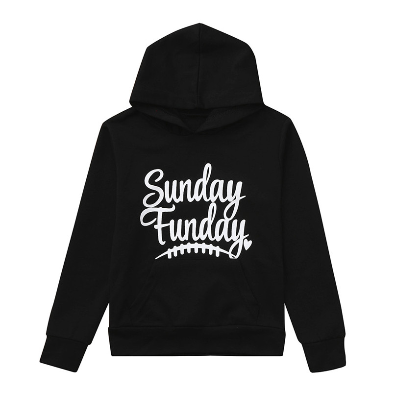 Child Sweater Children\`s Running Jacket Mommy Me Child Girls Boys Long Sleeves Letter Hooded Sweatershirt Family Clothes #2O19#F (5)