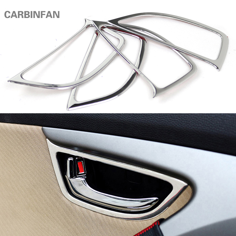 Stainless Steel Door Handle Bowl Cover For Tucson Covers Interior Decoration Trim 2015-2018 Accessories