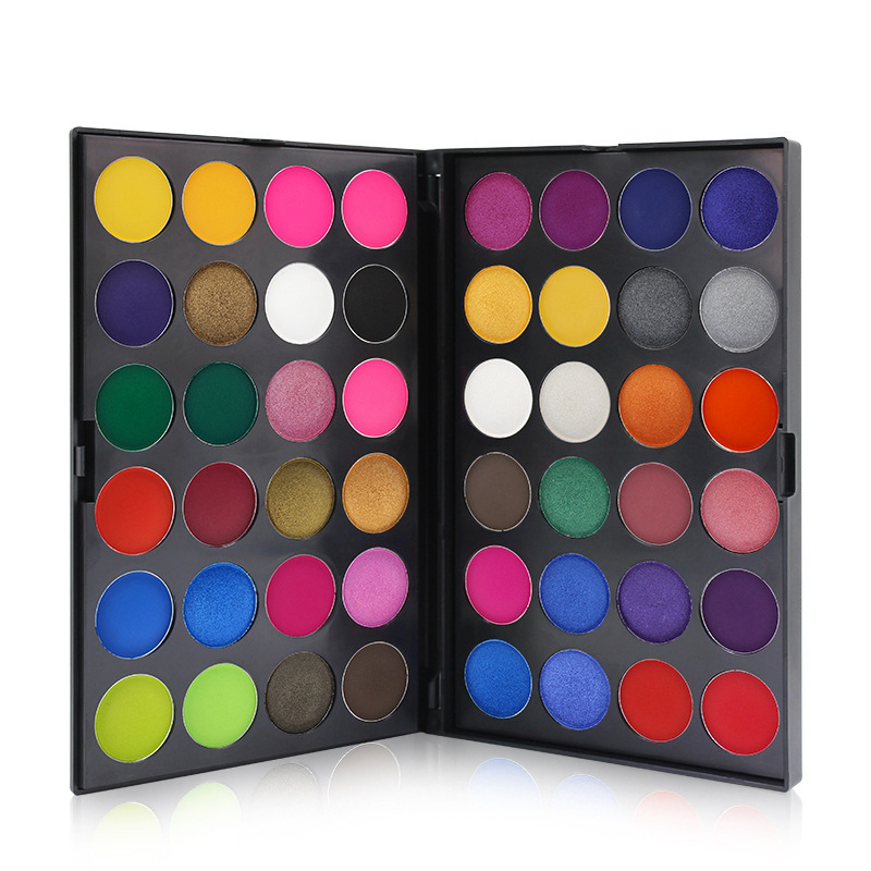 IMAGIC Women 48 Candy Colors Shimmer Eye Shadow Waterproof White Black Red Pigment Palette Cosplay Cosmetics Makeup Eyeshadow для глаз cargo cosmetics you had me at aloha eye shadow palette