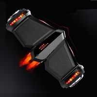 Reborn Newest Electric Scooter 8 Inch Self Balancing Scooter Spray Fire Steam Skateboard Hoverboard Bluetooth Gyroscooter