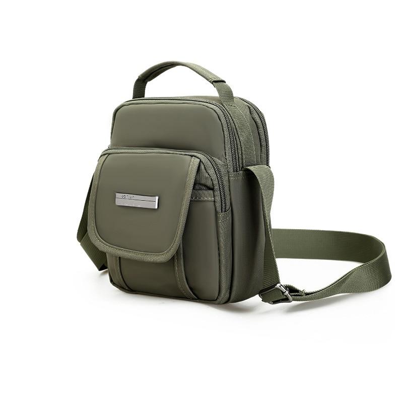 2018 New Fashion Brand Mini Men Bag Waterproof Nylon Messenger Bag Business Casual Small Crossbody bag Hot male shoulder bag