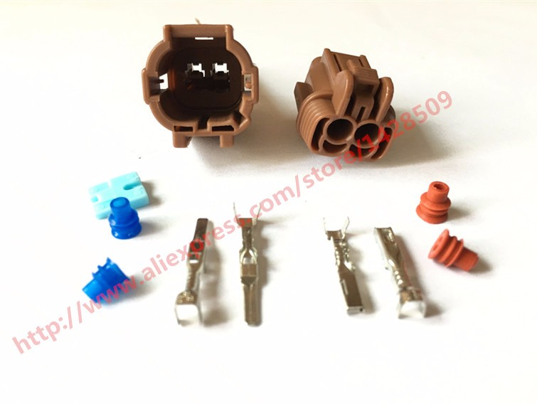 20 Set Sumitomo 2 Pin TS Sealed Series Female Male Kit Waterproof Car Electric Connector 6185-0866 6188-0553