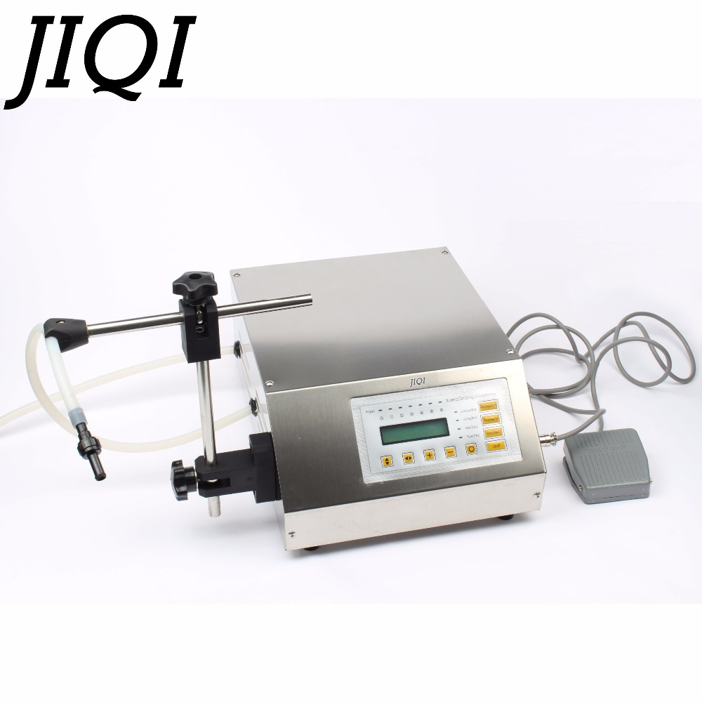 Digital Control Pump Liquid Filling Machine LCD display mini Portable Electric perfume Water drink milk bottles filler 110V-220V
