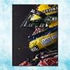 Ayrton Senna F1 racing champion Silk Canvas Poster 13x18 24x32 inches Home Wall Decoration (more)-3