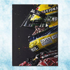 Ayrton Senna F1 racing champion Silk Canvas Poster 13x18 24x32 inches Home Wall Decoration (more)-3