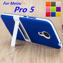 Ultra-thin PC Frame Soft Case Meizu Pro 5 Cover TPU Silicon Case For Meizu Pro 5 Matte Feel Capa Fundas Free One Film