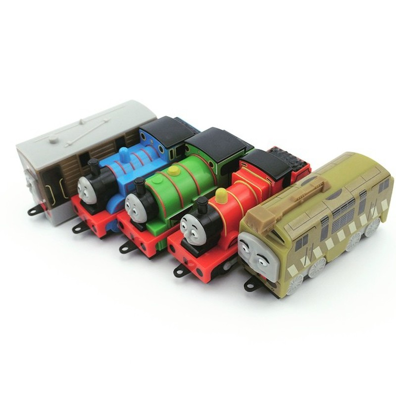 1pc Free Shipping Mini Plastic Diecasts Thomas Toy Train 8cm Funny Thomas And Friends Vehicle Toy Birthday Gifts For Kids #YL plastic toy funny game pinart 3d clone shape pin art shoumo variety colorful needle child get face palm model 1pc free shipping