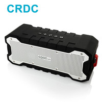 CRDC Bluetooth Speaker Outdoor Portable Wireless Waterproof Speaker with Enhanced Bass Dual 5W Drivers / A2DP /30 Hour Playtime