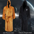 Hot Sale Star Wars Darth Vader Coral Fleece Terry Jedi Adult Bathrobe Robes Halloween Cosplay Costume for Men Sleepwear