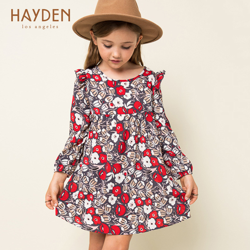 long sleeve flower girl dresses red princess costume 6 8 10 years teenage girls clothes fancy children clothing girl party dress summer 2017 new girl dress baby princess dresses flower girls dresses for party and wedding kids children clothing 4 6 8 10 year