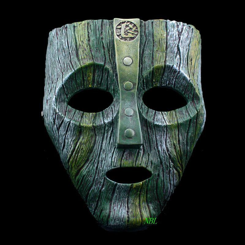 Cameron Diaz Loki Halloween Resin Masks Jim Carrey Venetian  Mask The God of Mischief Masquerade Replica Cosplay Costume Props jewelry making