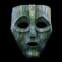Cameron Diaz Loki Halloween Resin Masks Jim Carrey Venetian  Mask The God of Mischief Masquerade Replica Cosplay Costume Props