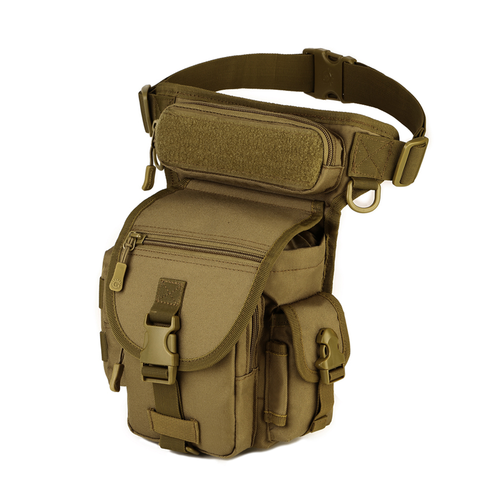Men Leg Bag Waist Packs Messenger Bags Casual Multifunction Small Travel Bags Style Shoulder Military Riding