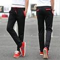 pantalon homme clothing 2016new leisure time fashion Slim motion Feet Pencil pants yeezy boost gymshark mens joggers