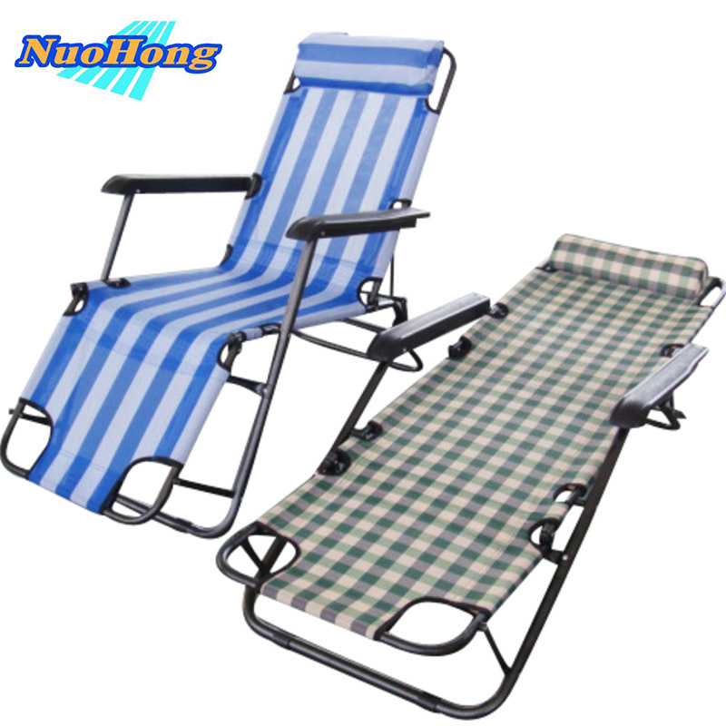 Aliexpress.com : Buy NUOHONG 2017 Folding Sun Lounger Fashion Outdoor  Furniture Tourist Camping Chairs Stainless Steel Metal From Reliable Folding  Sun ... Part 63