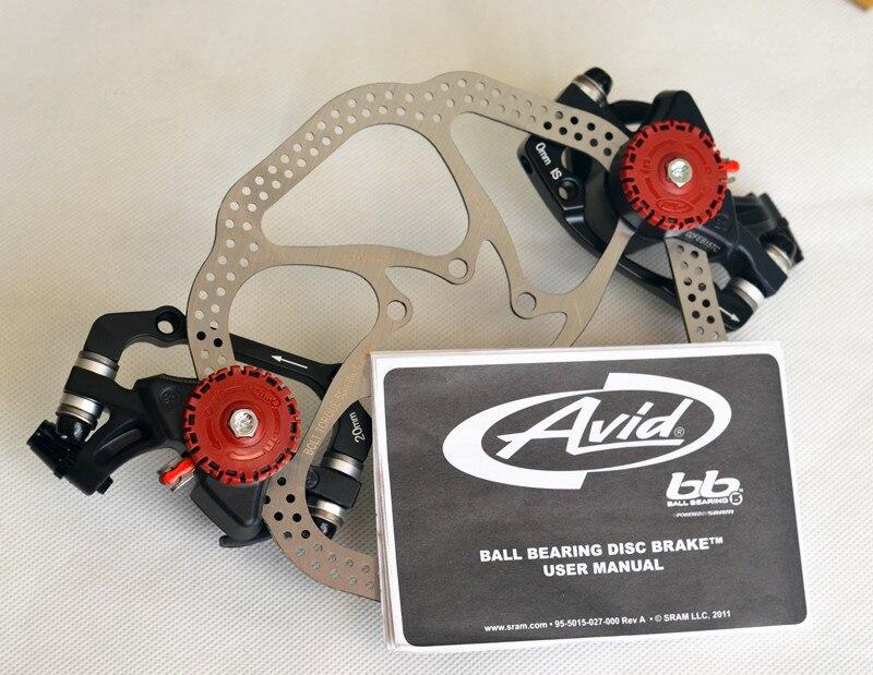 Original MTB Bike AVID BB5 BB-5 Mechanical Front Rear Disc Brake Caliper 160mm