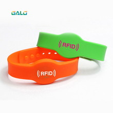 125khz EM4100 TK4100 Wristband RFID Bracelet ID Card Silicone RFID Band Read Only No Printed Color optional цена 2017