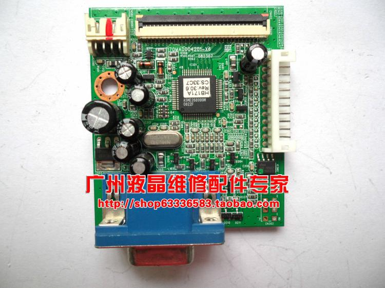 все цены на Free Shipping>Original 100% Tested Working iF171 driver board motherboard 170MAD004201-X6 decode board онлайн