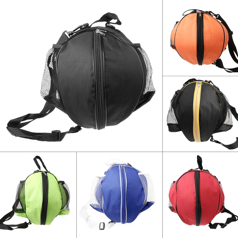 1Pc Multifunction Basketball Carrying Shoulder Bag Waterproof Sports Portable Drawstring