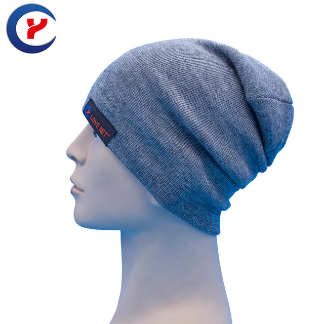 2017 Fashion Double-sided Knitted hats Outdoor sports Hip Hop hat For Woman Casual Knit Beanies colorful handsome hats #x14