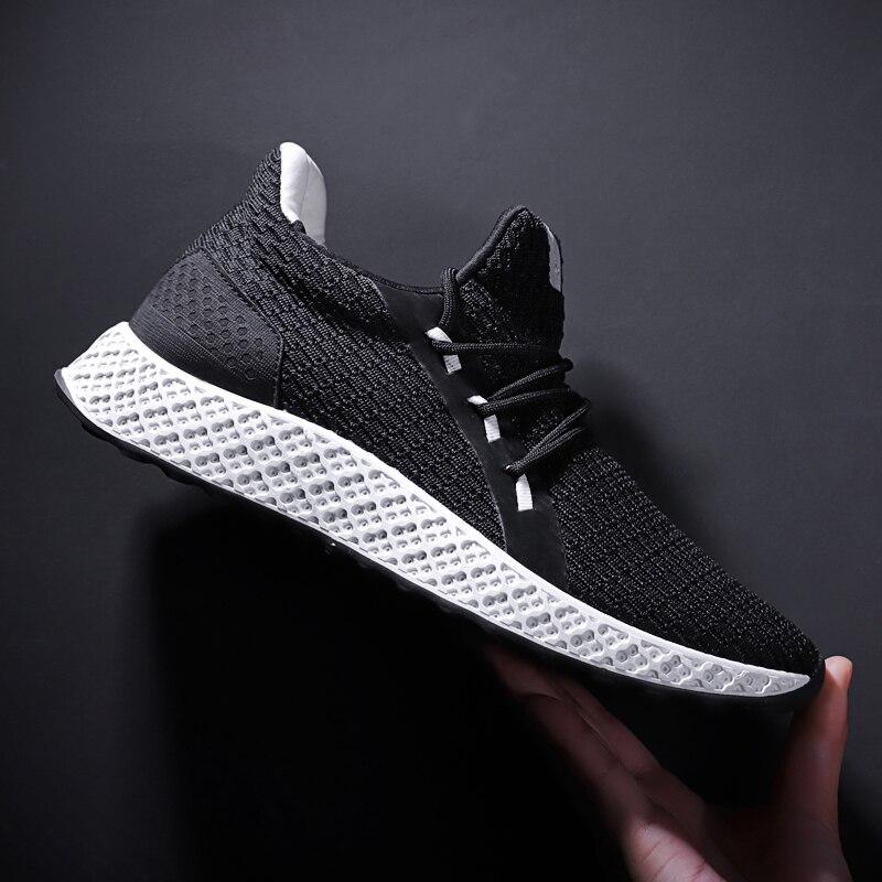 rouge Noir Zapatos gris Zanvllchy Chaussures De Saisons Respirant Hombre Formateurs Tenis Casual Up Lace Quatre Hommes Mode Sneakers 2018 Marque nAHnqSf