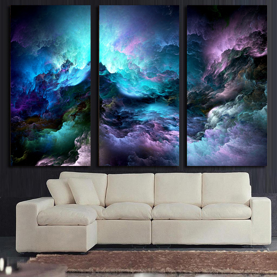 HD-Printed-3-piece-canvas-art-abstract-psychedelic-nebula-space-Painting-decor-panel-paintings-Free-shipping (1)