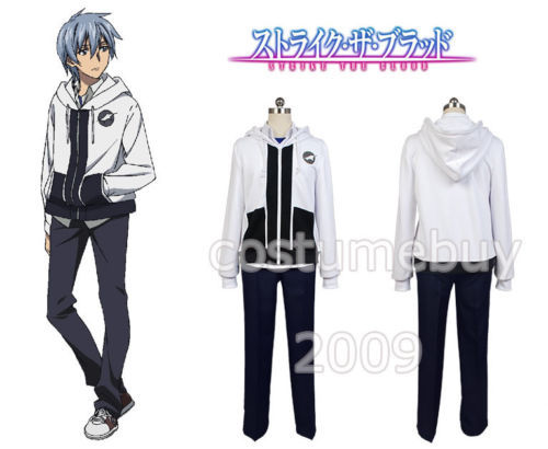 Strike the Blood Kojou Akatsuki Cosplay Costume Anime Halloween Costume Custom Made
