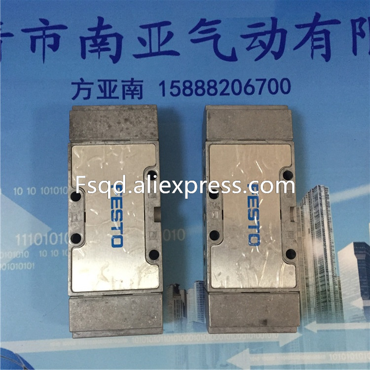 VL-5/3-B-1/4-B FESTO three type FESTO solenoid valve five through the gas control valve купить