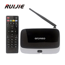 CS918 Android 4.4 TV Box RK3188 Quad Core 2G/8G Mini PC RJ-45 USB WiFi XBMC Smart TV Media Player with Remote Controller
