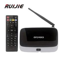 CS918 Android 4.4 TV Box RK3188 Quad Core 2G/8G Mini PC RJ-45 USB WiFi XBMC Smart TV Media Player with Remote Controller