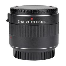Viltrox C-AF 2X Magnification Teleconverter Extender Auto Focus Mount Lens for Canon EOS EF Lens DSLR Camera