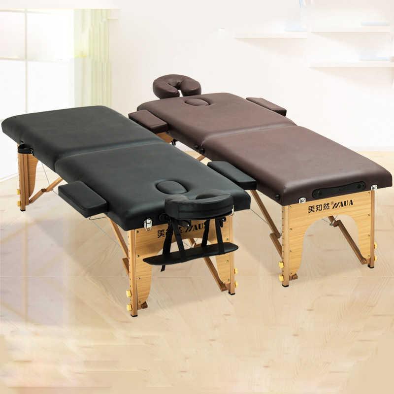 Универсальный портативный спа массажные столы складной с сумкой для переноски салон мебель кровать косметический массажный стол