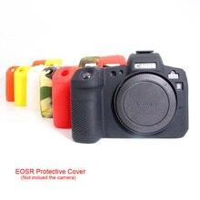 ซิลิโคนสำหรับ Canon EOS R กรณียางซิลิโคนนุ่มป้องกันผิวสำหรับ Canon EOSR กล้องป้องกัน