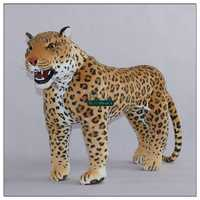 Dorimytrader 110cm X 85cm Domineering Leopard Large Stuffed Soft Plush Emulational Animal Panther Toy Gift Free Shipping DY61034