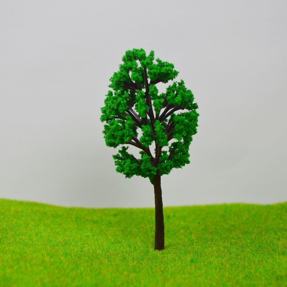 Teraysun New 2017 Brand ABS Plastic Model Trees Train Railroad Scenery  10cm HO N Z OO scale model train layout