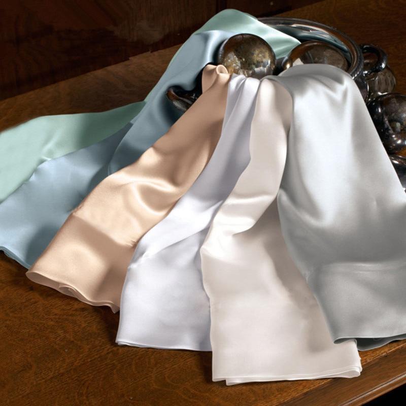 Високоякісний 100% шовк суцільний колір двостороння шовковиця шовкова наволочка 51 * 76 см шовкопряд шовкова подушка фронга де седа