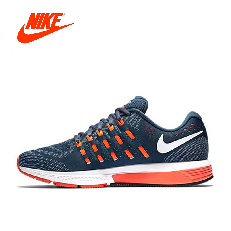 Original New Arrival Official NIKE AIR ZOOM VOMERO Mens Breathable Running Shoes Sports Sneakers Outdoor
