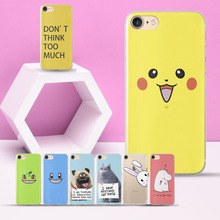 Funny Cute dog cat for Coque iPhone 5S case for iPhone XS Max case for iPhone 5 5S 6 6S 7 X 6 Plus 7 Plus 8 Plus SE XS XR Cases цена и фото