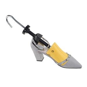 Image 2 - BSAID Novo 1 Pedaço de Sapato de Plástico Rack de Maca Para Homens Sapatos de Couro Sapato de Salto Alto Mulheres Unissex Ajustável De Madeira Da Sapata expansor